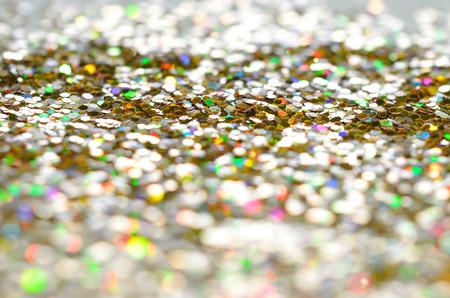 Textura carborundum de oro y el fondo bokeh Foto de archivo