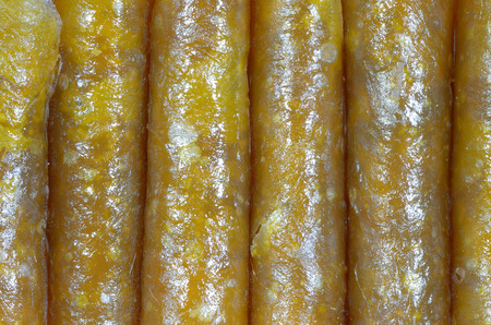 close up roll stir mangos Stock Photo