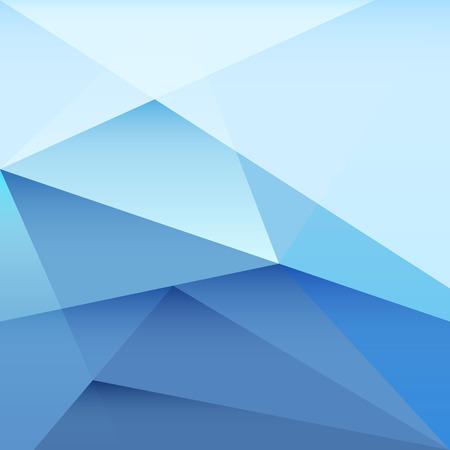nakładki: Wektor niebieski trójkąt nakładki tle Ilustracja
