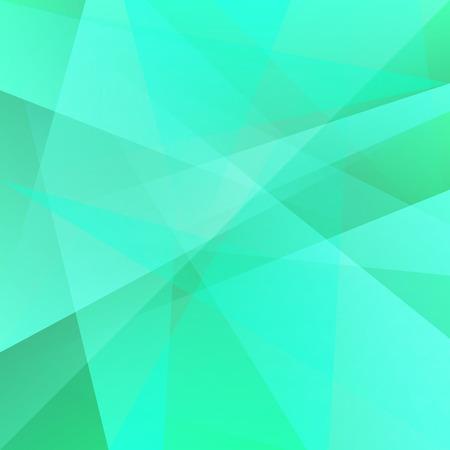 nakładki: Green geometric overlay background