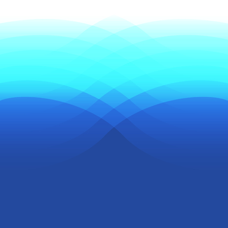 curve: blue gradient curve overlay background