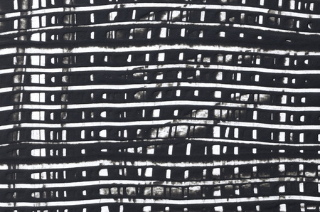 knobby: black and white grid line painting background