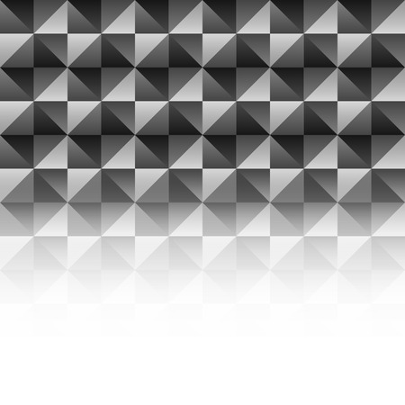 nakładki: vector black and white geometric overlay with empty place background