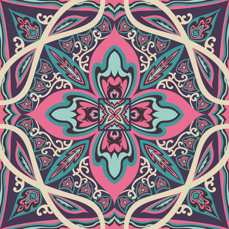 abstract modern pink and purple pattern