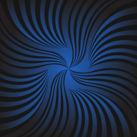 blue and black line swirl background