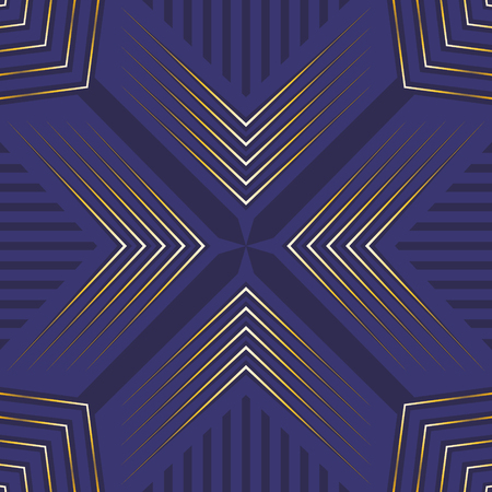 abstract purple and golden modern shape pattern