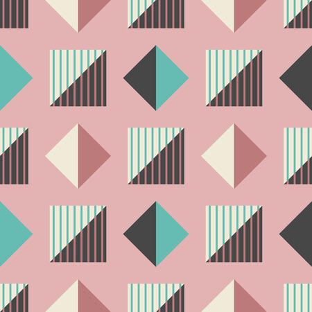 abstract geometric shape seamless pattern