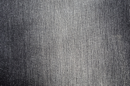 close up black denim texture pattern