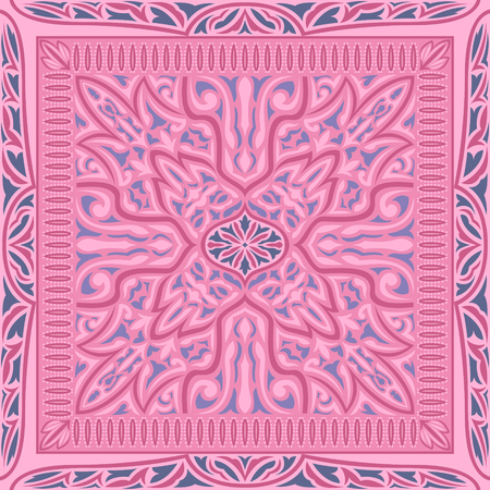 Abstract pink contemporary pattern. Illustration