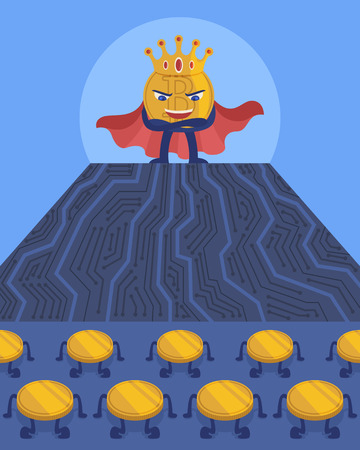 Im a king of cryptocurrency.
