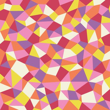 geometric warm tone pattern background
