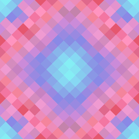 Abstract geometric blue and pink gradient tone background Illustration