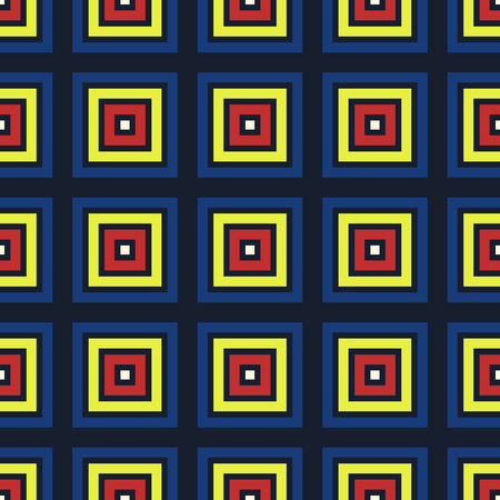 abstract multicolor squares seamless pattern