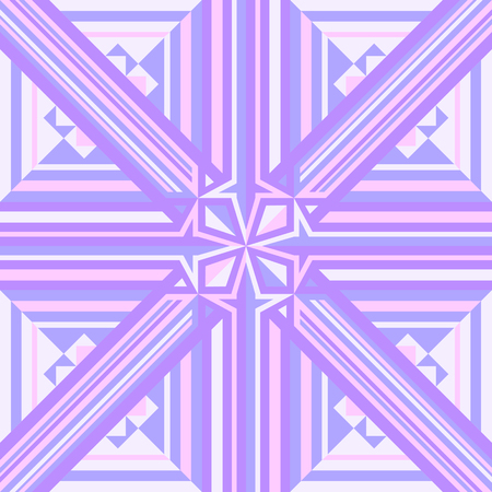 Abstract seamless, modern geometric purple and white pattern.