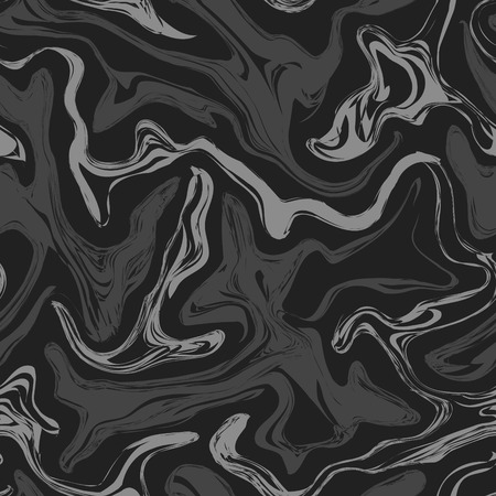 black marble seamless pattern for decoration Vector Illustration