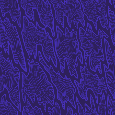 violet crack wooden plate drawing outlines seamless pattern  イラスト・ベクター素材