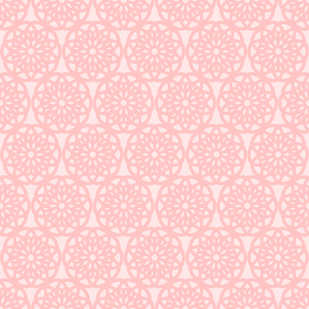 pink vintage lace doily floral seamless pattern 写真素材 - 127409410
