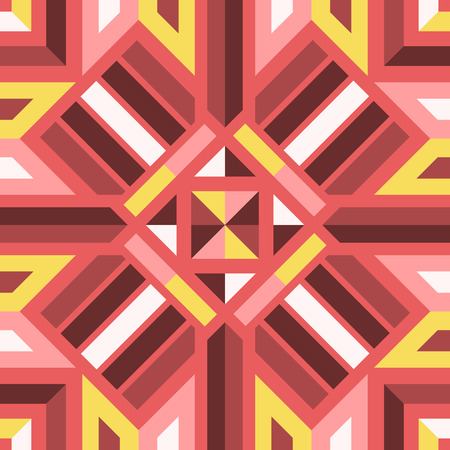 modern contemporary geometric switching colors pattern  イラスト・ベクター素材