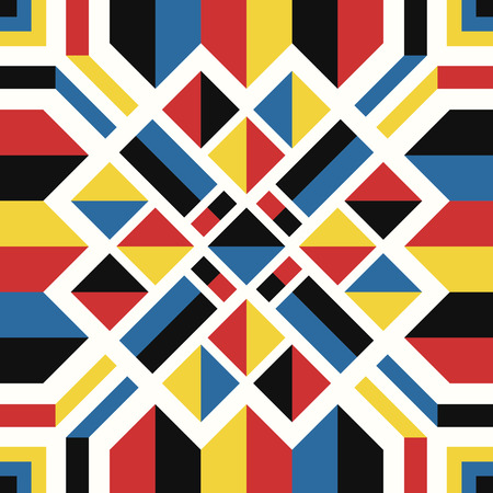 modern contemporary native geometric pattern