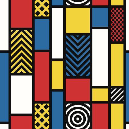 vector modern style seamless pattern 写真素材 - 128380439