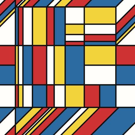 vector modern geometric seamless pattern 写真素材 - 132825447