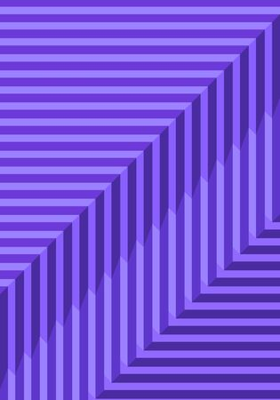vector geometric violet illusion lines background for brochure banner and publication 写真素材 - 132724044