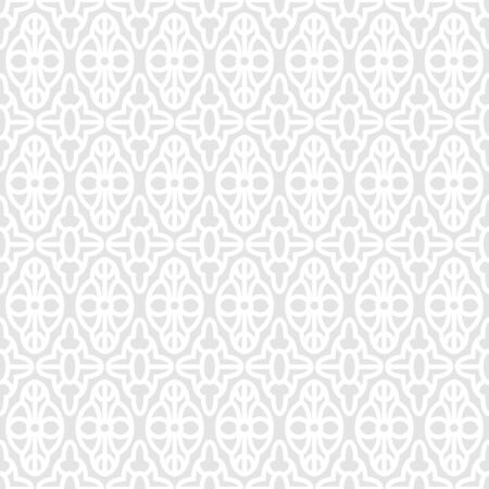 vector vintage white and grey lace doilies floral seamless pattern