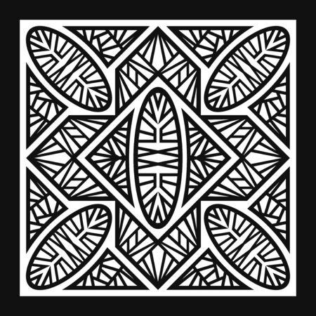 modern black and white geometric pattern
