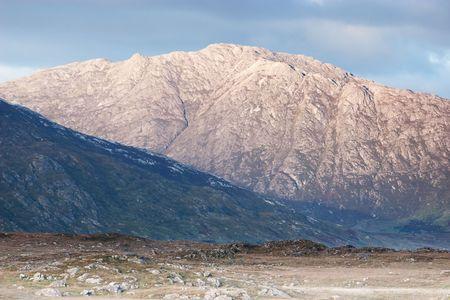 bens: Twelve Bens mountains in Connemara National park, Galway, Ireland