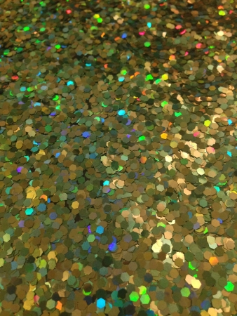 Large green and yellow glitter background