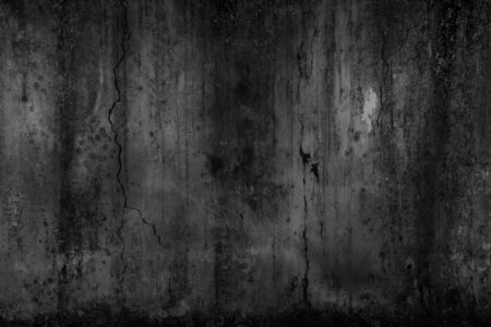 Abstract background scary old cement wall, concept of horror and Halloween Imagens
