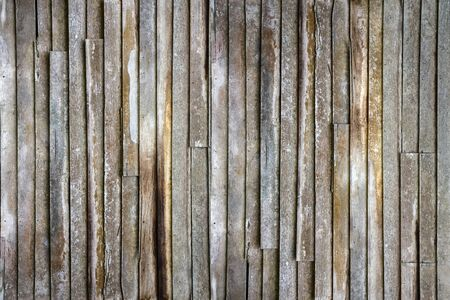 Old wooden wall house as texture and background