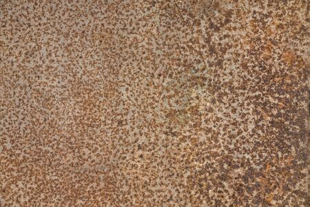 Rusted steel as texture and background Stock Photo