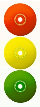color compact discs