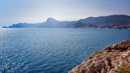 beautiful landscape in Eastern Europe near black sea