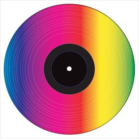 vinyl: Vinyl disc