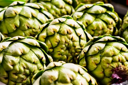 Delicious Artichokes at Pike Place Market, Seattle