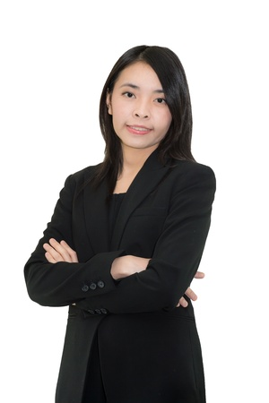 Asian woman  Smiling Asian Educational   Business woman