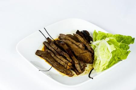 broil: Organic broil beef roast