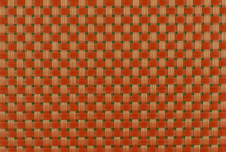 Maty rattanowe Wickers pomarańczowy tekstury tła Zdjęcie Seryjne