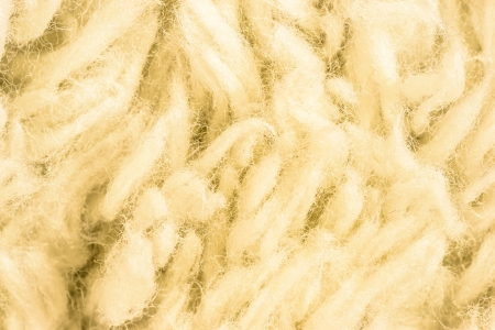 Yellow fur background. Close up