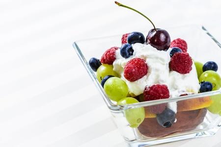 Yogurt fruit salad