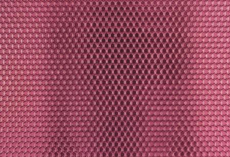 Pink Metal Hex Cells Texture