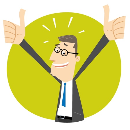 Thumbs Up! Stock Vector - 19707013