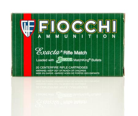 reloaded: Winneconne, WI - 10 Jan 2016: Box of Fiocchi 223  full metal jacket rounds.