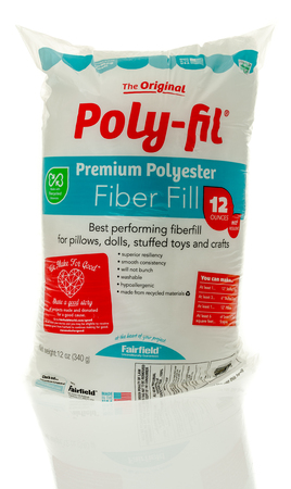 fil: Winneconne, WI - 26 May 2016:  Bag of Ploy-fil on an isolated background Editorial
