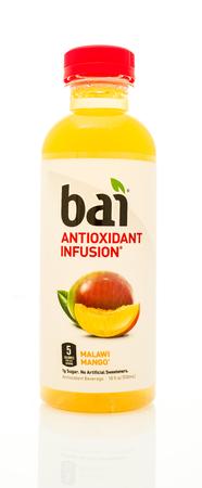 revive: Winneconne, WI - 14 Jan 2016:  Bottle of Bai antioxidant infusion in malawi mango flavor. Editorial