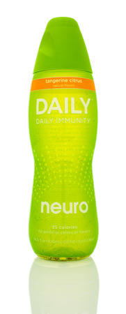 neuro: Winneconne, WI - 14 Jan 2016:  Bottle of Neuro daily immunity in tanderine citrus flavor. Editorial