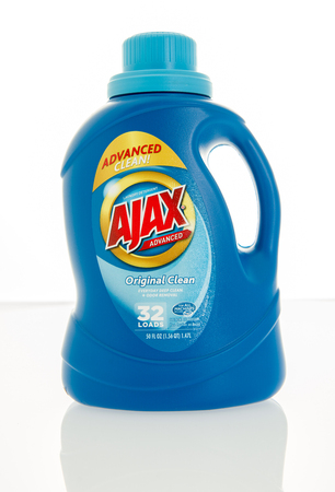 orginal: Winneconne, WI - 4 Feb 2016:  Bottle of Ajax laundry detergent. Editorial