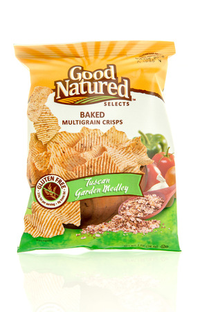 medley: Winneconne, WI - 17 Feb 2016: Bag of Good Natured Selects baked  chips in tuscan garden medley flavor.